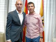 官方:塞拉德斯离开西班牙U21
