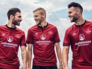 umbro发布纽伦堡2018/19赛季主场球衣