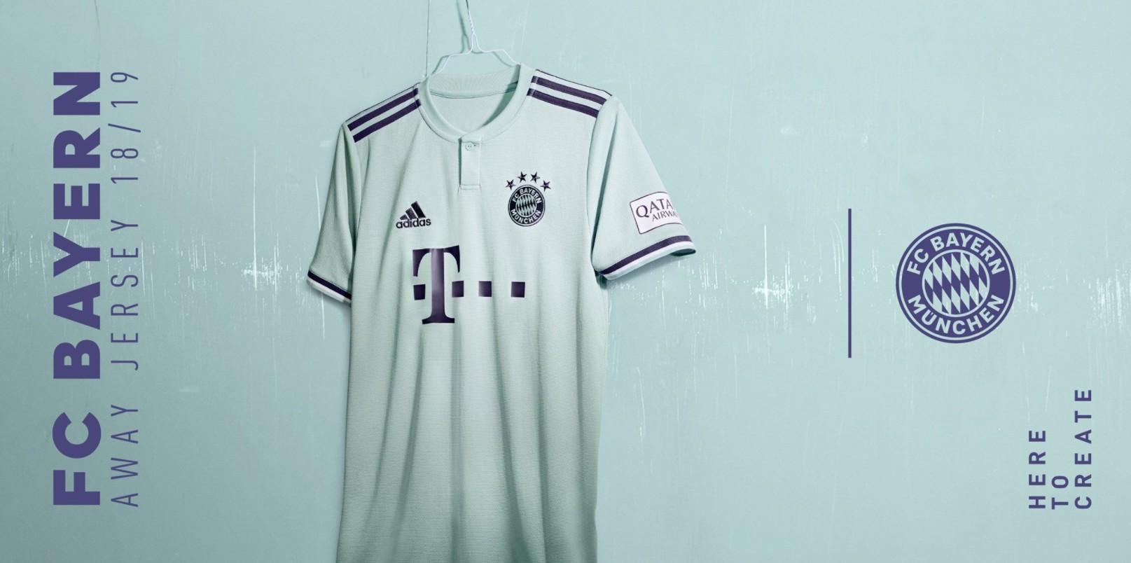 拜仁发布新赛季客场球衣,哈梅斯参与拍照