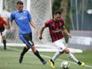 AC米兰2-0诺瓦拉,苏索任意球直接破门