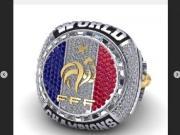 夺冠纪念,格子建议足协为法国队造冠军戒指