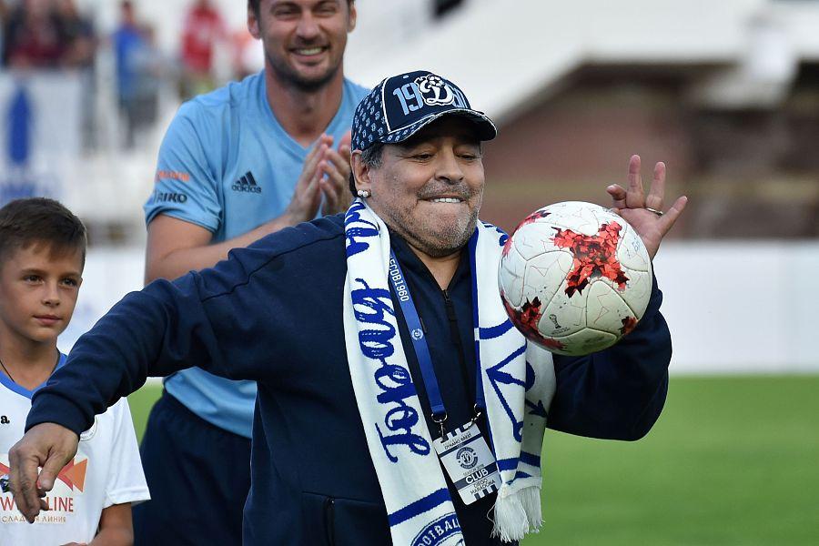 萨内蒂想和阿根廷足协合作,老马对他不感冒