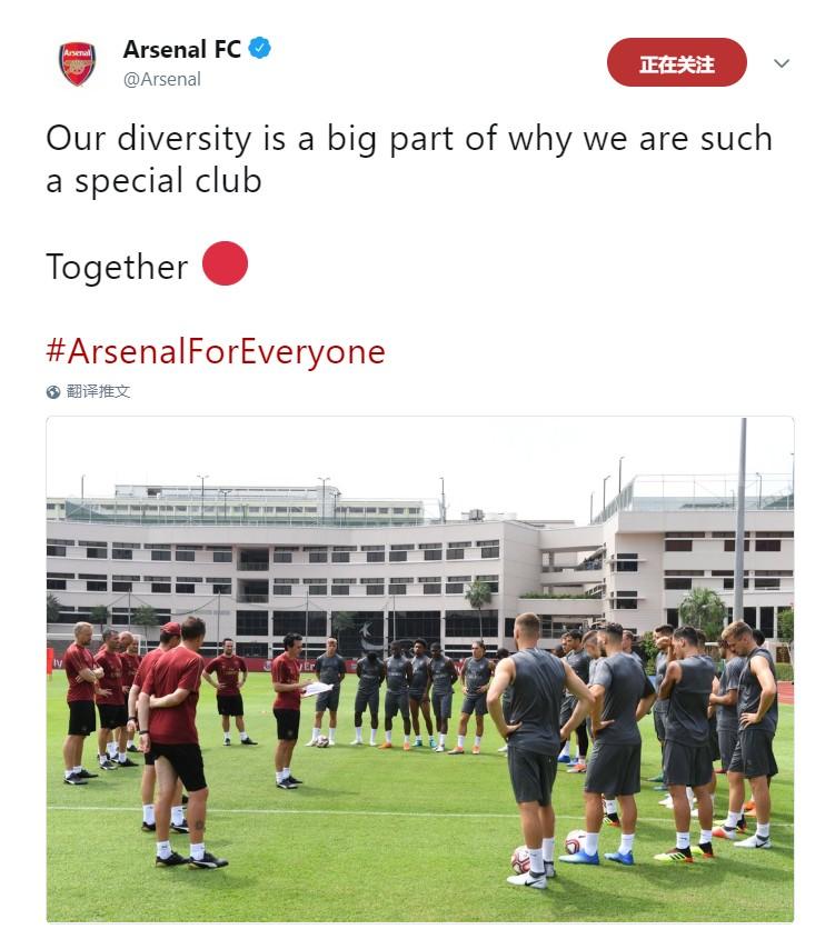 阿森纳力挺厄齐尔:多样性让我们