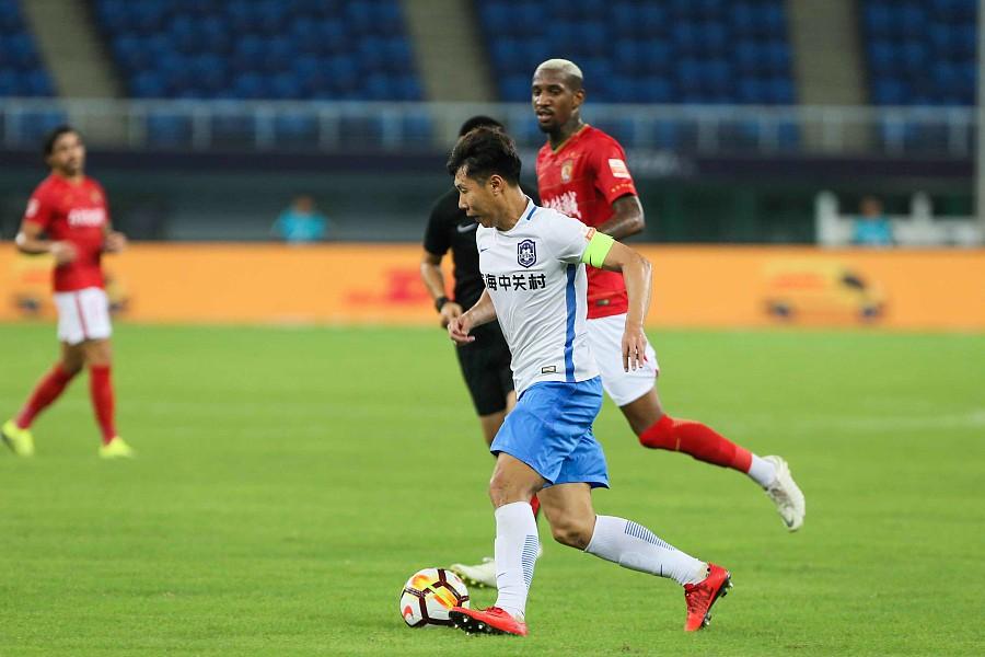 惠家康:要为天津足球多做贡献