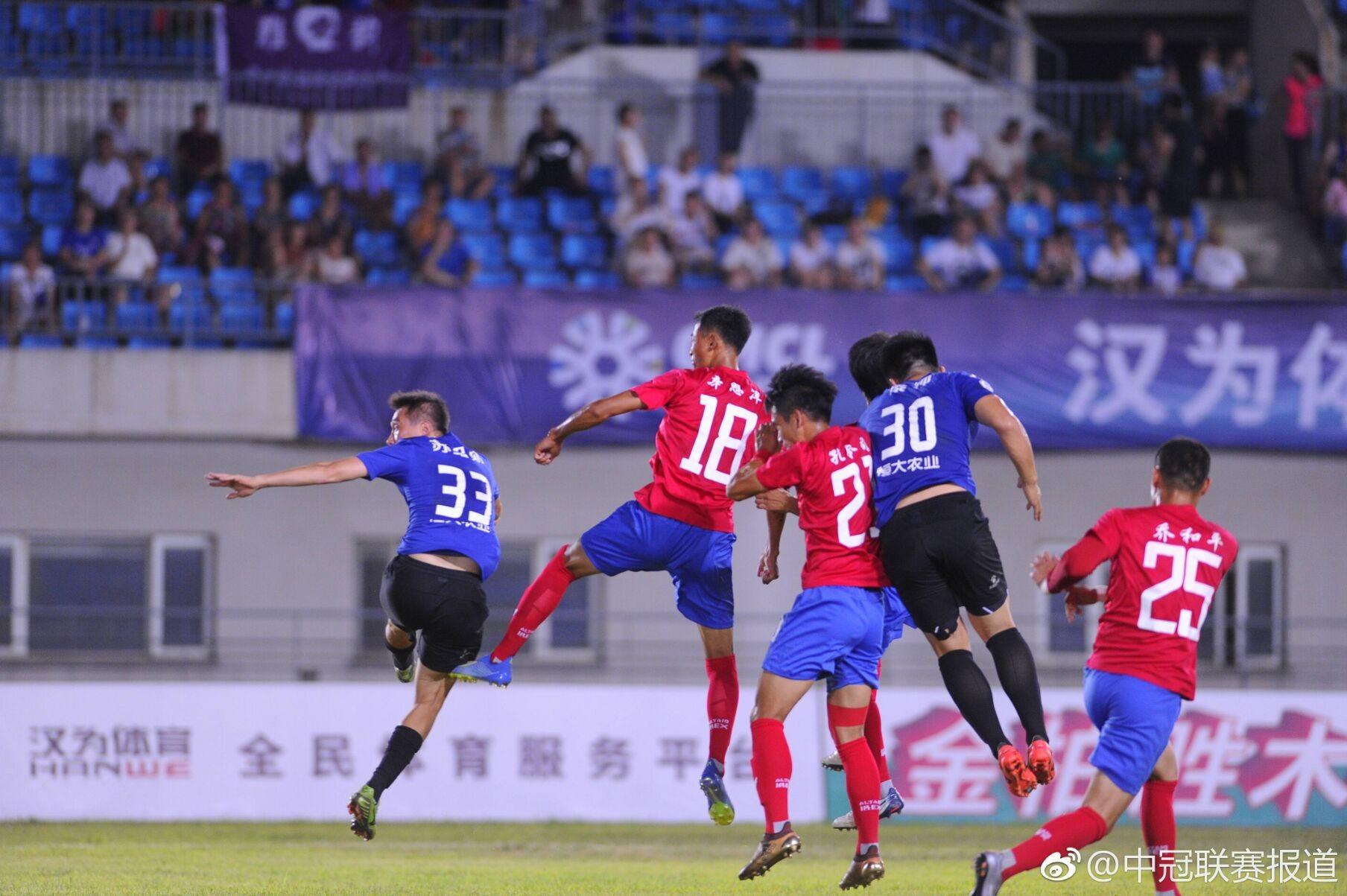 中冠联赛揭幕战,营口超越1-1战平丹东瀚通