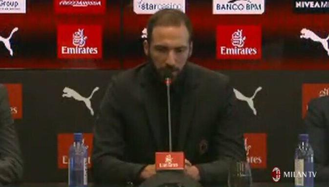 伊瓜因:想在米兰完成伟大的事