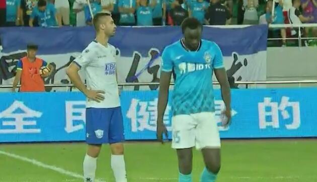 永昌客场2-1呼和浩特马修斯破门桑戈尔进球后染