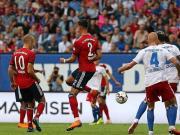 拜仁4-1逆转汉堡,瓦格纳双响+脚后跟神仙球,穆勒替补两球
