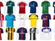西媒组织球迷票选新赛季最好看球衣,国安和恒大上榜