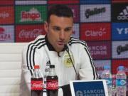 斯卡罗尼:梅西没拒绝国家队征召,是时候要更新换代了