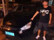 重庆一男士酒驾后逃跑,被捕获后自称是足球运动员