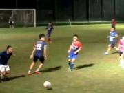 懂球帝FC5-3搜狐足球队,教练轰半场惊天吊射,小崔造两球
