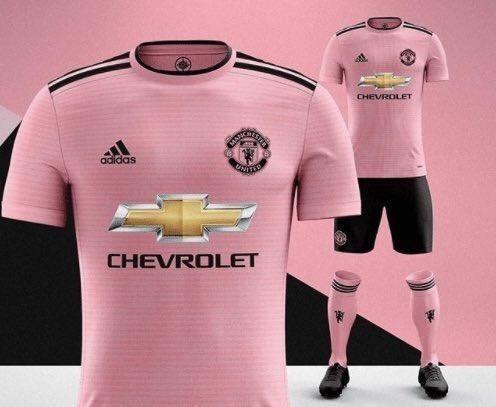 少女心,曼联下周发布粉色球衣