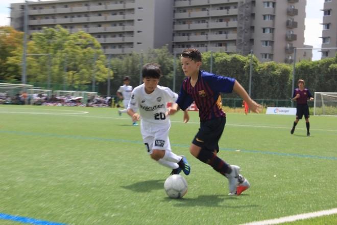 U12足球挑战赛,巴萨青年B队1-0小