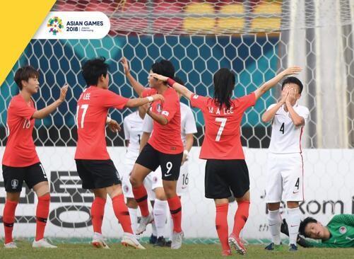 亚运女足综述:韩国5-0大胜中国香港,中国台北
