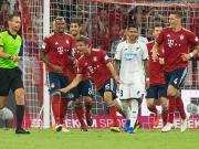拜仁3-1霍村取开门红,穆勒传射,莱万点射建功,罗本破门