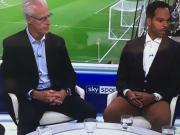莱斯科特棕色裤子看起来像没穿一样,卡拉格社交媒体调侃