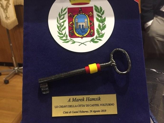 荣誉市民哈姆西克,恭喜队长落户沃尔图诺堡!