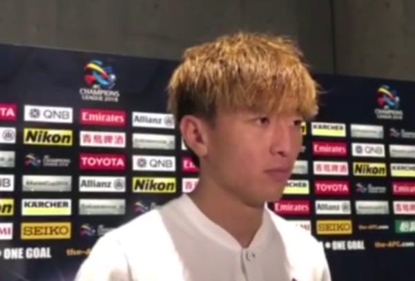 杨旭:重回国足是对我的激励;欧冠0-4都能翻盘