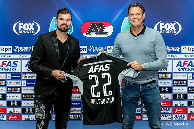官方:AZ签下荷兰前国门