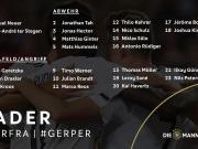 德国队号码:布兰特得到10号