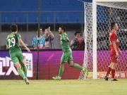 国安2-1重庆,比埃拉传射,巴坎布屡失良机,大摩托世界波