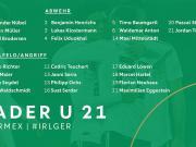 德国U21大名单:亨里希斯入选