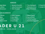 德国U21代表队大名单出炉!恭喜努贝尔,塞尔达和托伊歇...