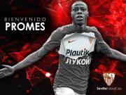 官方:塞维利亚签下普罗梅斯