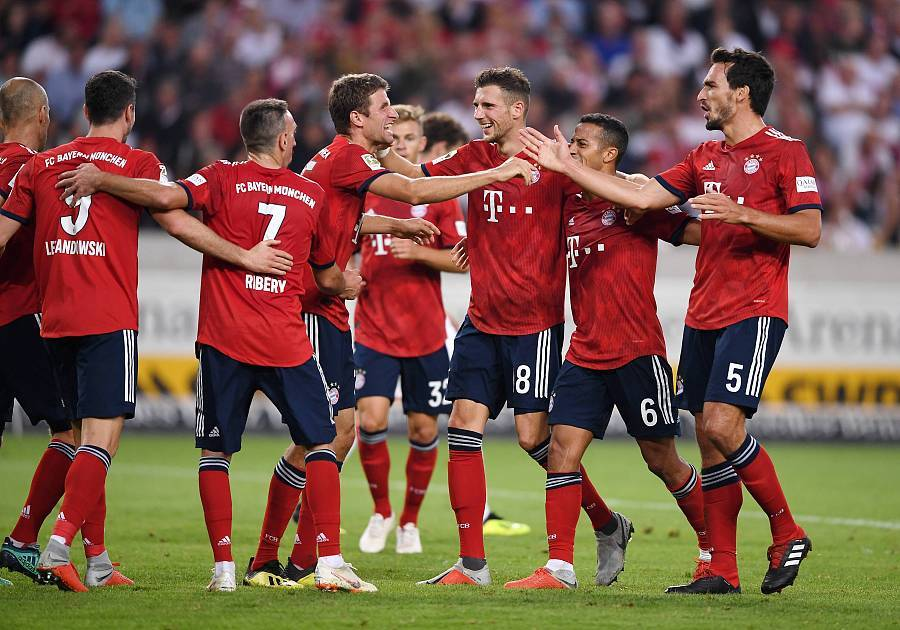 拜仁创更多纪录:连续四季两连胜开局、客场连胜斯图加特10次