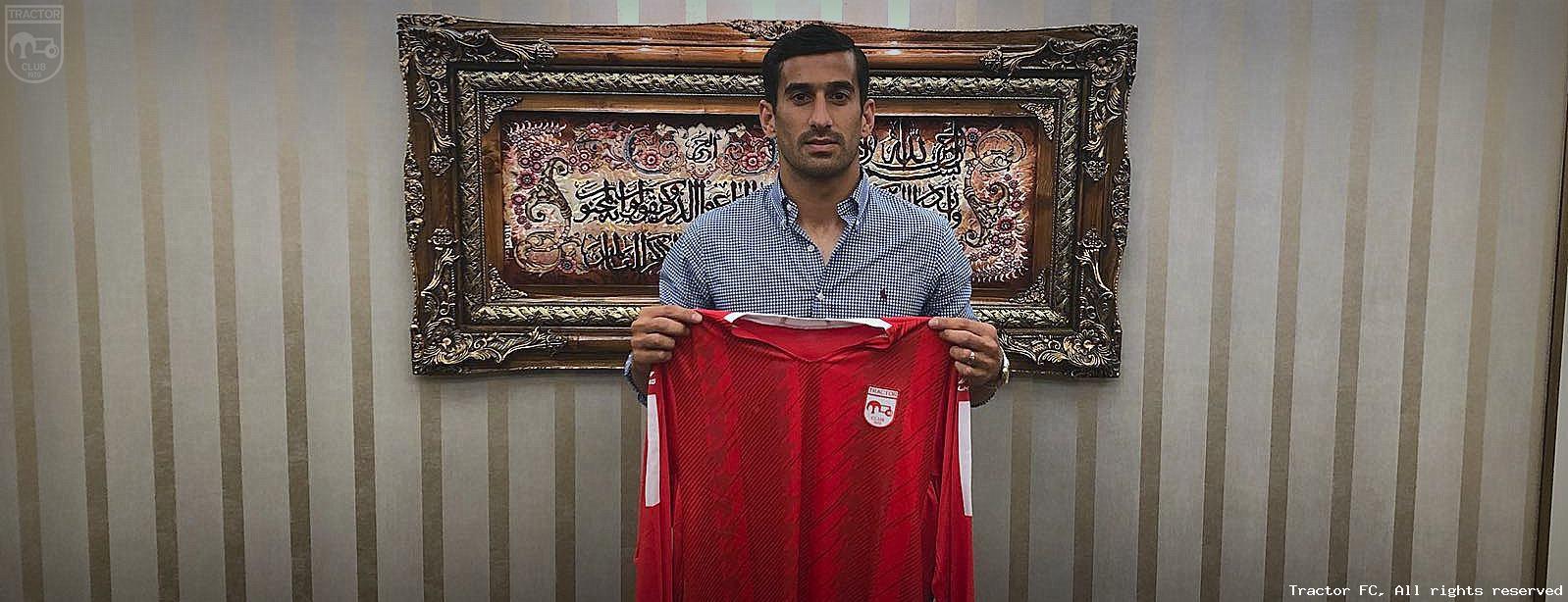 官方:伊朗球队签下哈伊萨菲