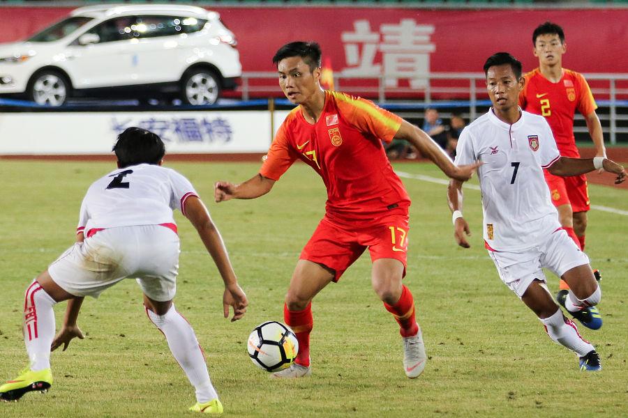 缅甸主帅:中国球员身体很强壮
