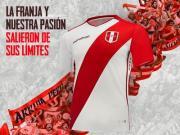 秘鲁国家队2018/19主场球衣发布