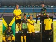umbro发布牙买加国家队2018/19主客场球衣