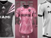 哪款最好看?看国外玩家为国际迈阿密设计球衣