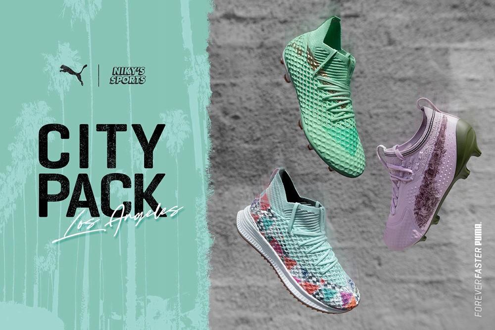 "PUMA发布""City Pack L.A.""足球鞋套装"