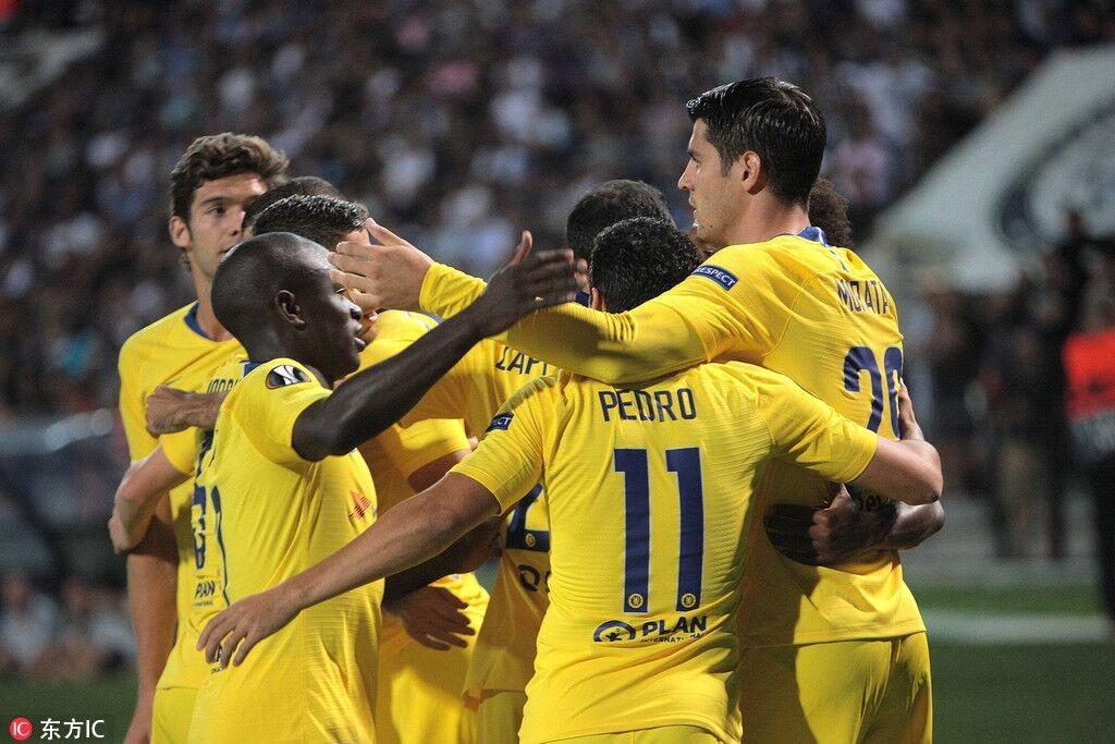 切尔西1-0客胜塞萨洛尼基