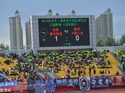 中乙第25轮上座人数:沈阳城建主场破万,内蒙古48人