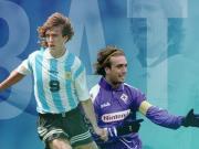出道30周年纪念日,阿根廷国家队官方发文赞美巴蒂