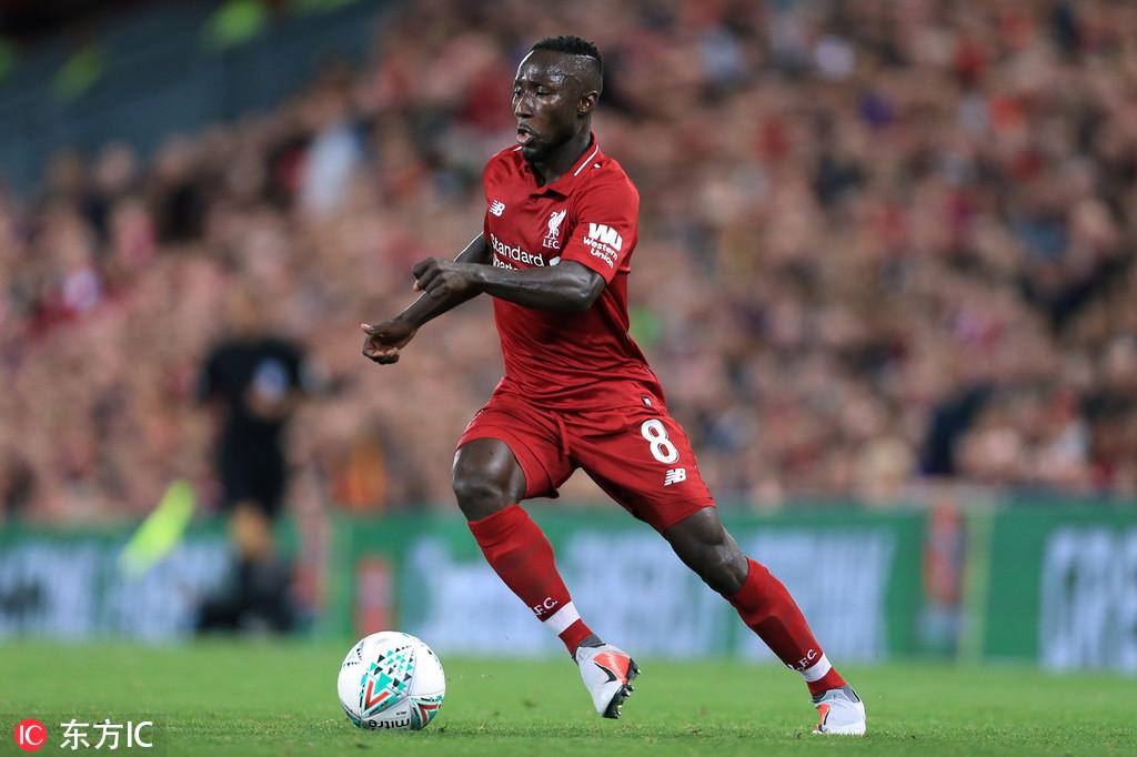 利物浦将在欧冠小组赛第二轮客场迎战那不勒斯