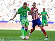 马竞1-0贝蒂斯排名暂居第一,科雷亚替补建功,卡利尼奇中柱