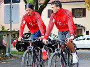 图片报:拜仁球员反对骑车加练