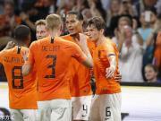 荷蘭3-0德國取歐國聯首勝,范戴克德佩建功,威納爾杜姆破門