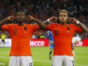 创历史,荷兰首次3球大胜德