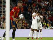 英格兰客场3-2西班牙取欧国联首胜,斯特林双响