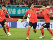 韩国2-2巴拿马,朴柱昊、黄仁范破门,孙兴慜献助攻
