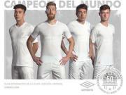 拉普拉塔大学生发布洲际杯夺冠50周年纪念球衣