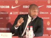 忘了发布会上有法国记者,亨利说了5分钟英语才想起来