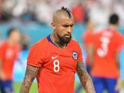 罕见,比达尔在巴萨的登场时间还没有在智利国家队多