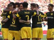 多特4-0客胜斯图加特保持不败,罗伊斯传射,桑乔、帕科建功